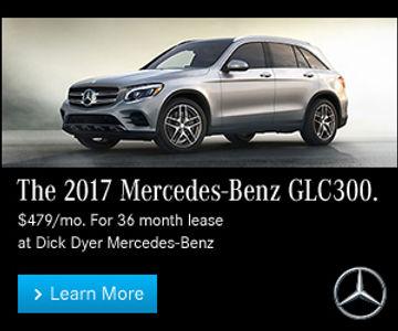 Dick Dyer Mercedes-Benz display ad