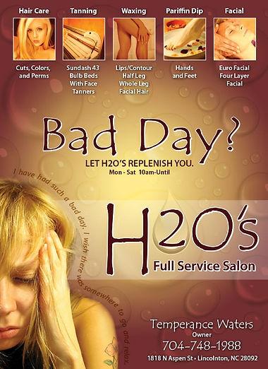 H2O Salon ad
