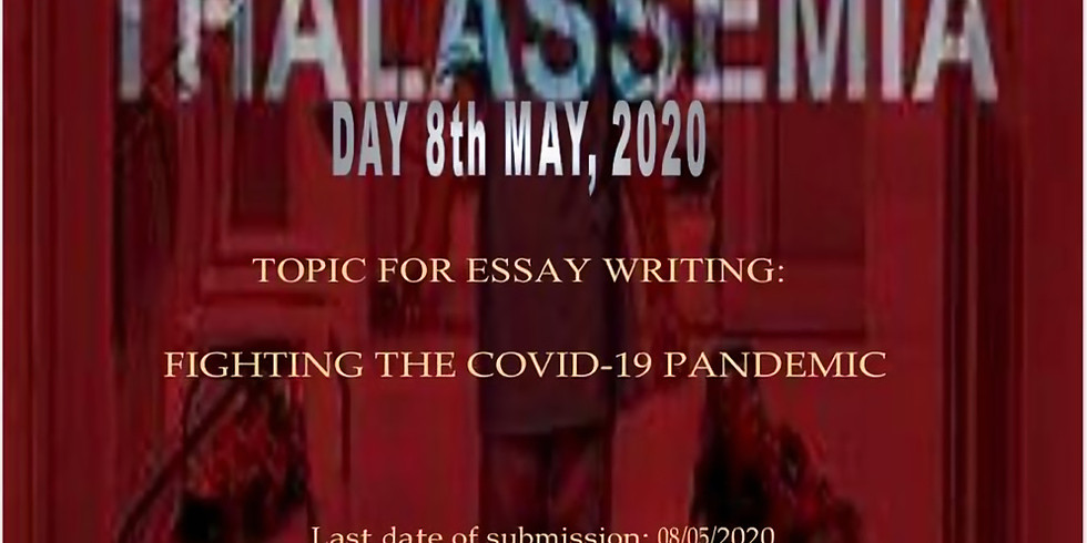 Essay Writing for Thalassemia Major Patients