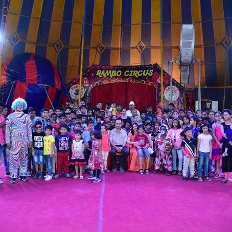 MVR Welfare Foundation at Rambo Circus