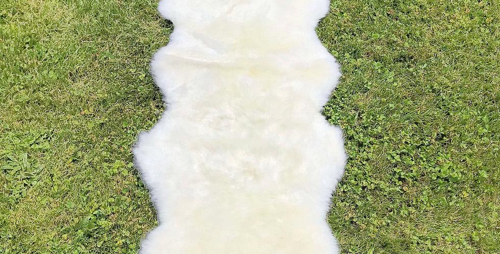 Australian Sheepskin Double Ivory 2'x6' $95