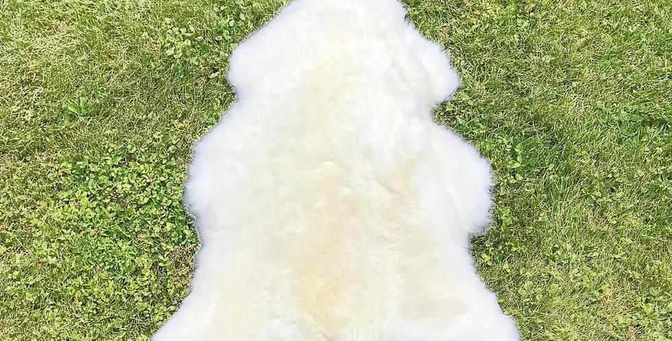 Australian Sheepskin Single Ivory 2'x3'