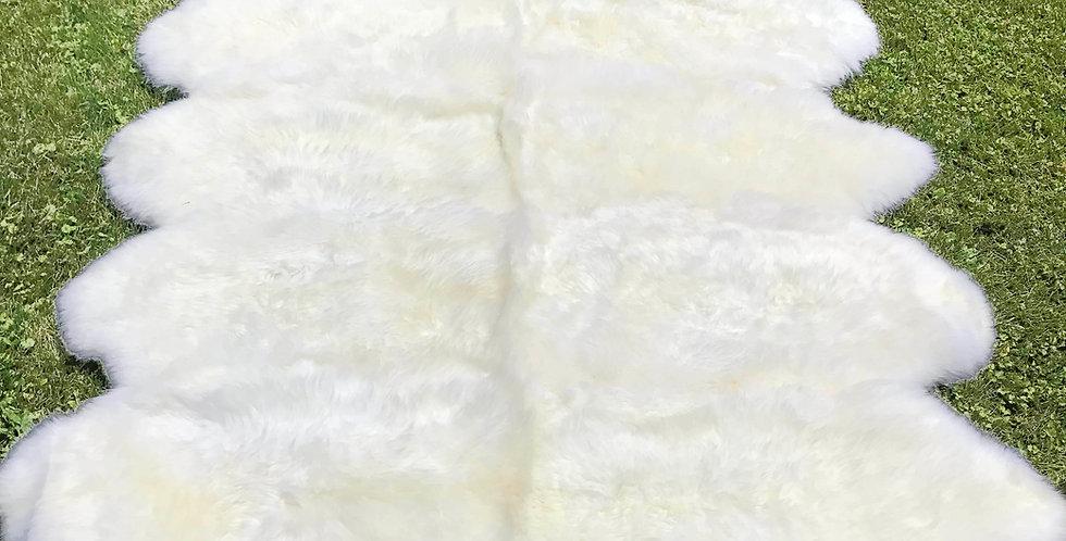 Australian Sheepskin Octo Ivory 6'x7' $319