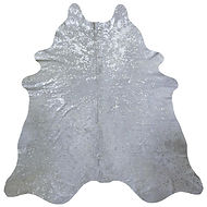 SILVER METALLIC ON WHITE HIDE.jpg