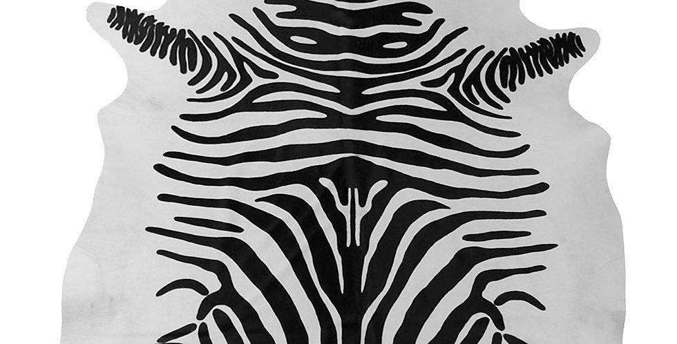 Zebra Brazilian Cowhide