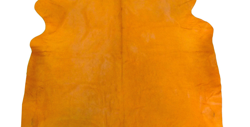 Dyed Orange Cowhide $375