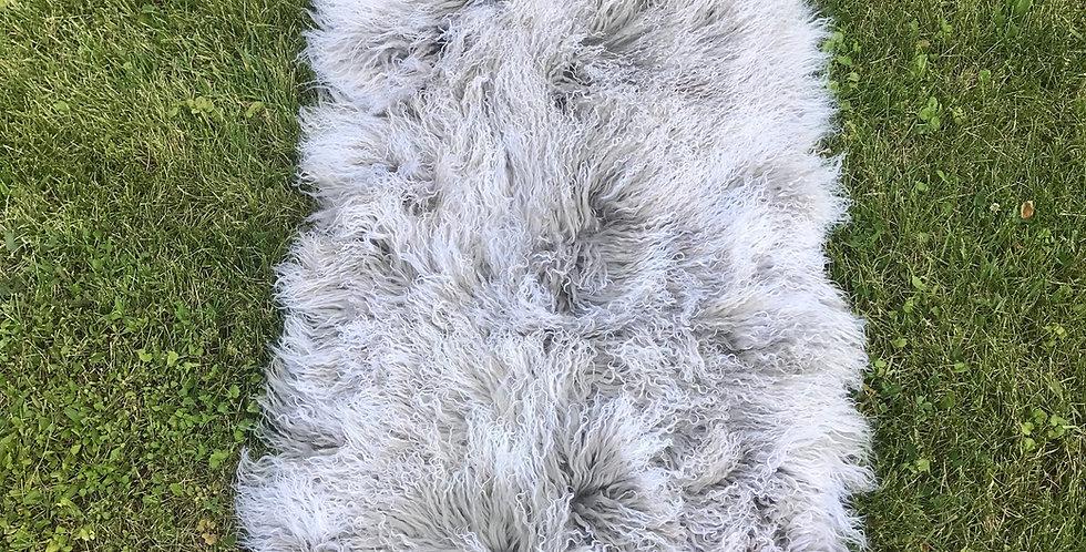 Gray Snowtop Throw/Rug