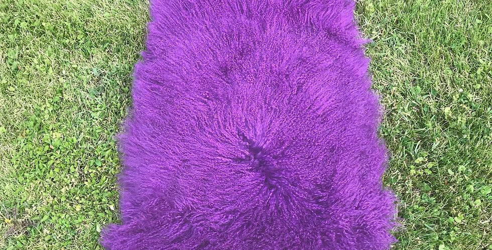 Royal Purple Tibetan Throw/Rug