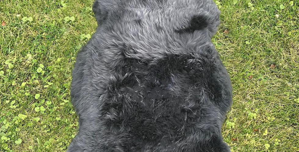 Australian Sheepskin Single Charcoal 2'x3' $49