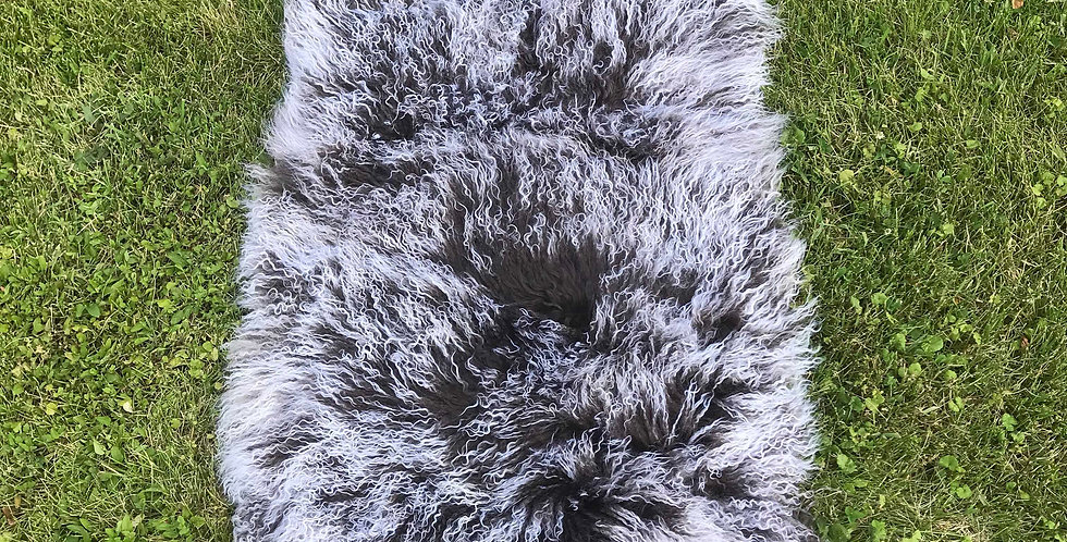 Starry Night Tibetan Lamb Throw/Rug