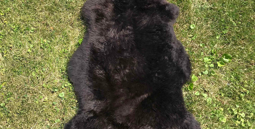 Australian Sheepskin Single Chocolate 2'x3'