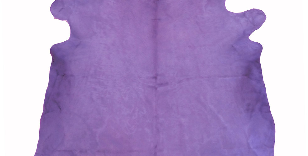 Purple Dyed Cowhide