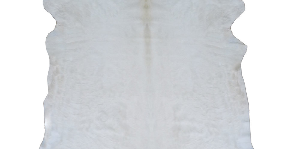 White Brazilian Cowhide