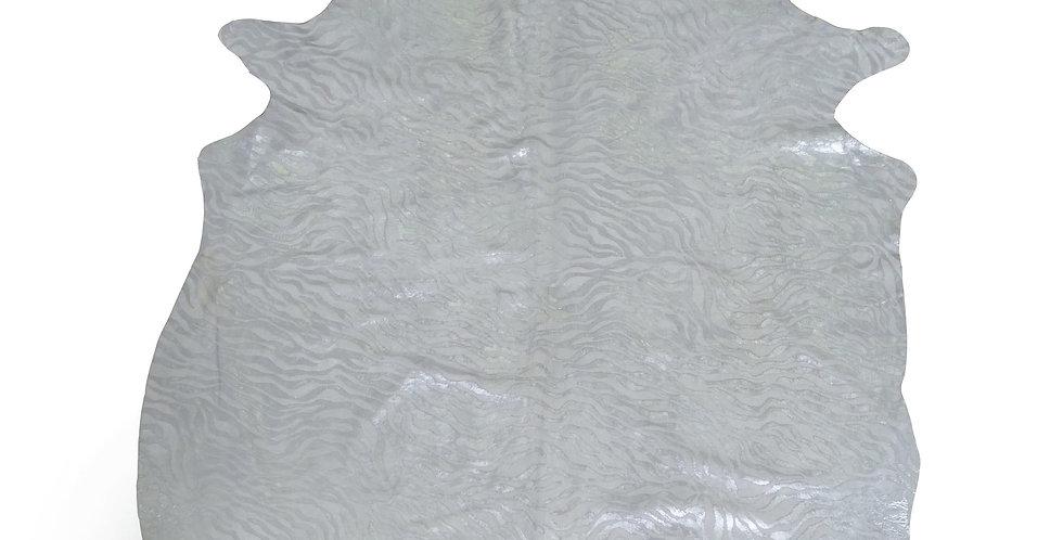 Silver Baby Zebra Cowhide $199