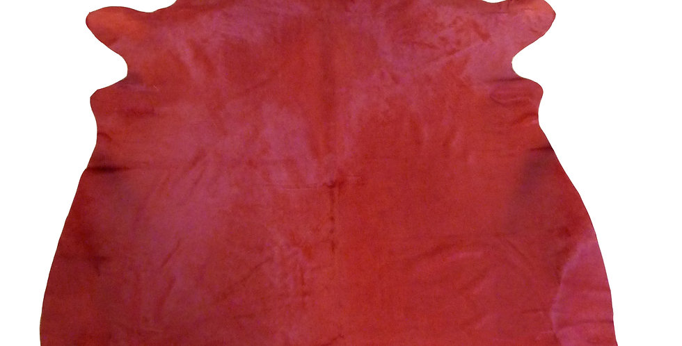 Dyed Red Cowhide $275