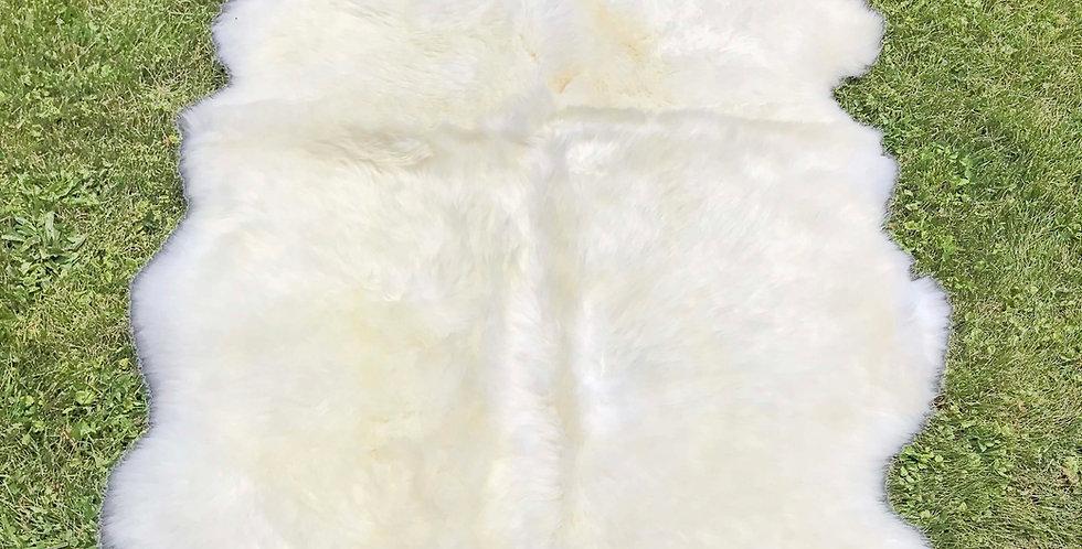 Australian Sheepskin Quad Ivory 4'x6'