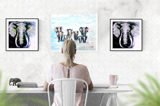 Imaginary Paintings..by Ulrike