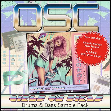 OSC Girls On Bikes - Drums & Bass Sample