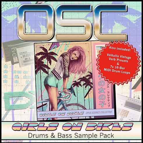 OSC Girls On Bikes - Drums & Bass Sample