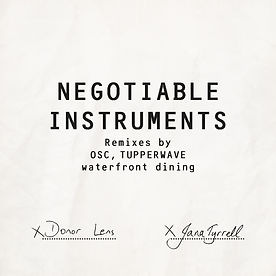 Negotiable Instruments Cover Art (1000px
