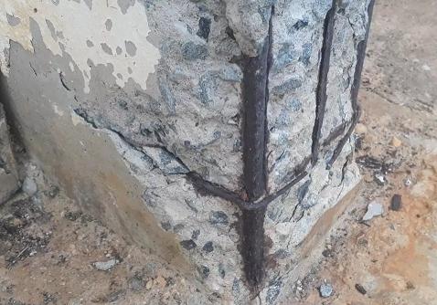 Trincas em paredes, pilares e lajes