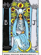 The High Priestess: I Know There's Something Going On...