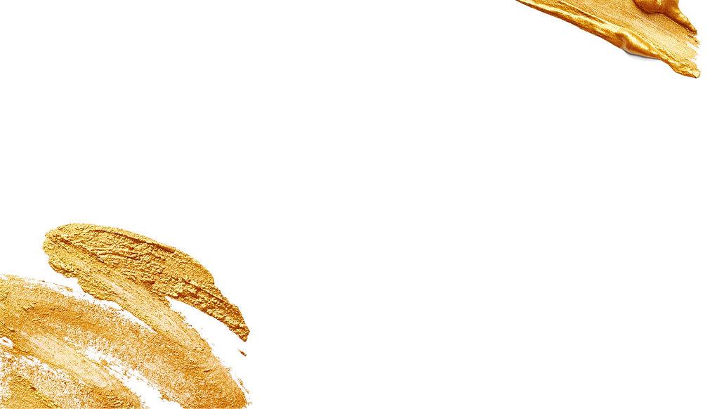 Gold Makeup Strokes