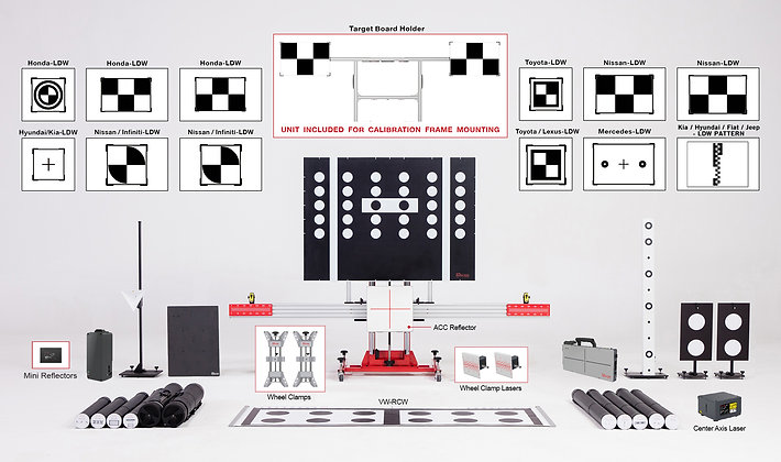 Complete ADAS Calibration Package