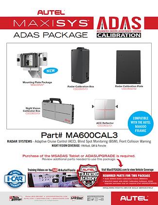 Autel MA600 Calibration Package 3