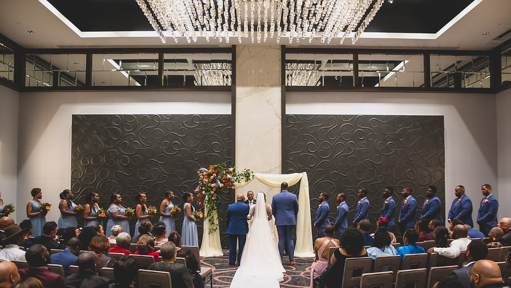 The Hotel At The University Of Maryland Wedding