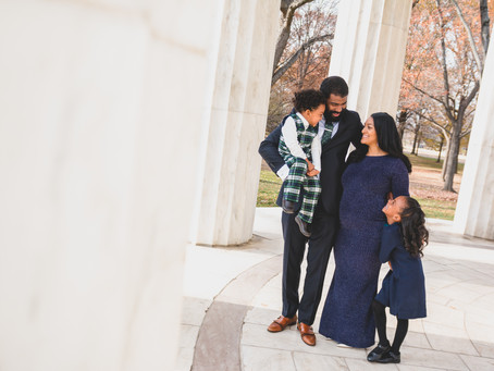 Dasher Family | Washington DC | DC War Memorial Family Photo Session
