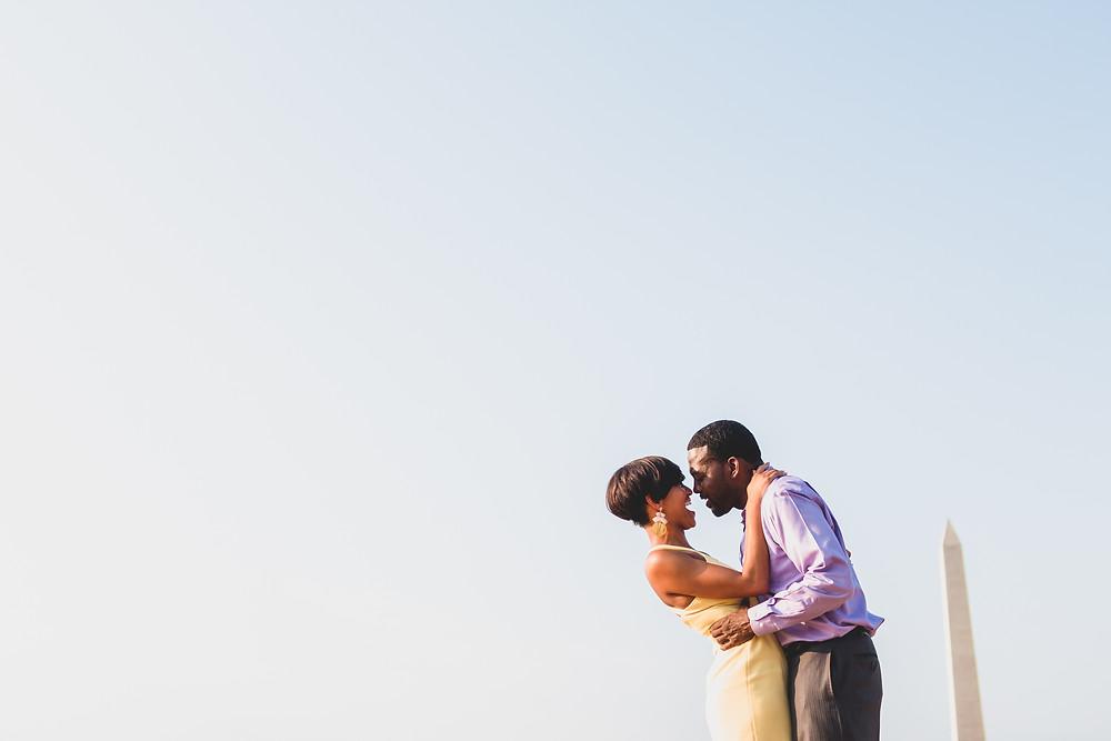 charliepwindsor Washington DC Wedding Photographers tidal basin engagement