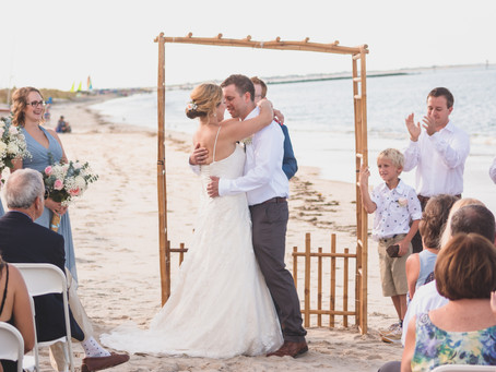 Ali + Pete | Lewes Beach Delaware | Childrens Beach House Wedding