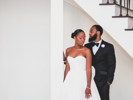 Ebony + Tyrone | Hazlet New Jersey | The Gramercy at Lakeside Manor Wedding