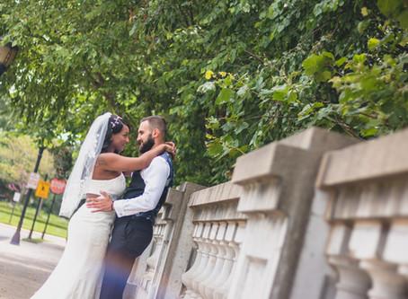Amber + David | Fairfax VA | Old Town Square Wedding