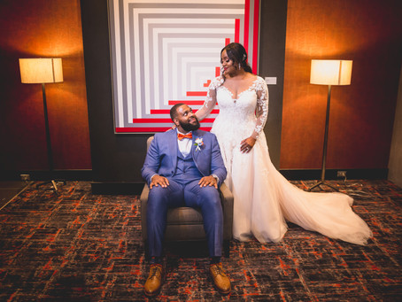 Andrea + Thiel | College Park MD | The Hotel At The University Of Maryland Wedding