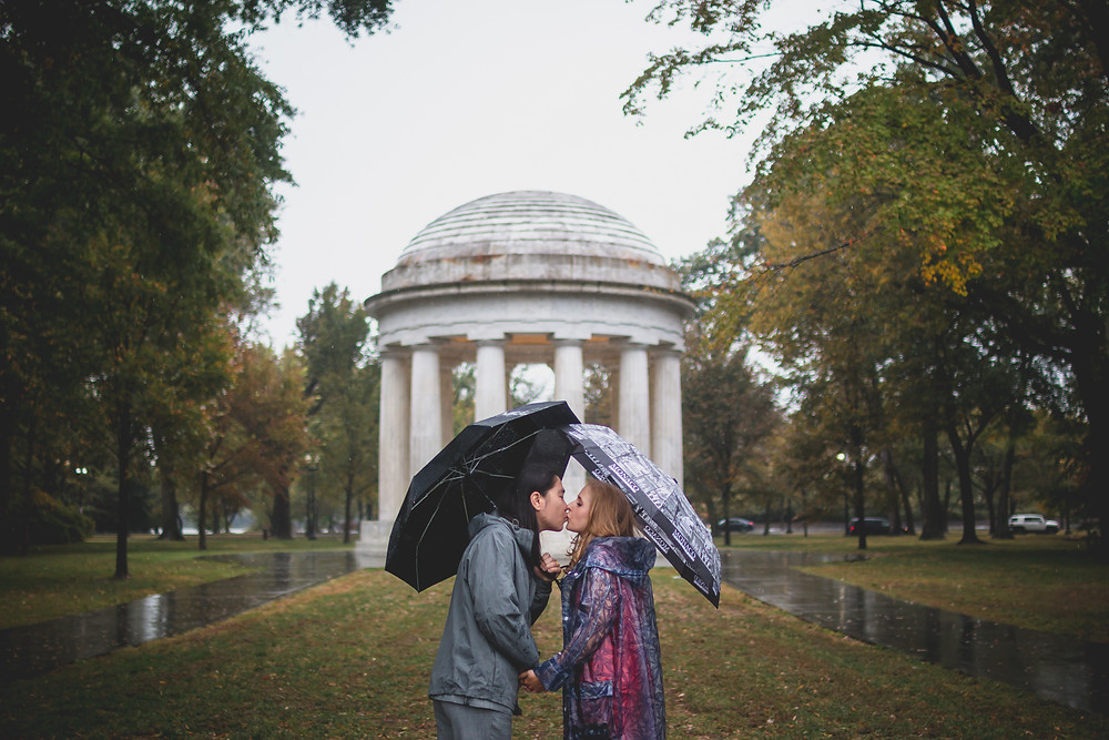 Washington DC War Memorial Engagement