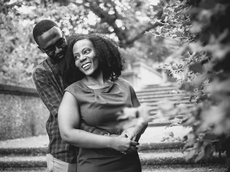 Jade + Gio | Washington DC | Meridian Hill Park Engagement Session