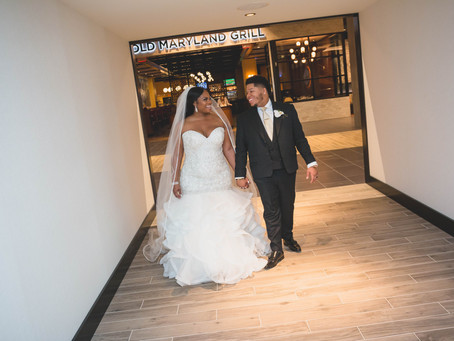 Aryka + Brandon | College Park MD | The Hotel at the University of Maryland Wedding