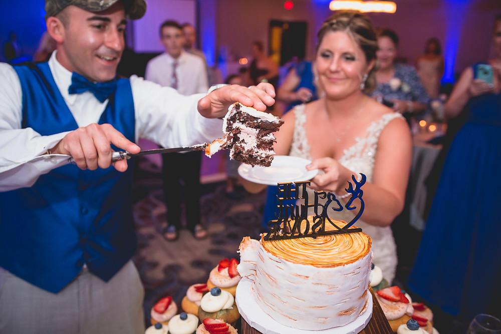 River Farm Wedding Alexandria Virginia CharliePWindsor Wedding Cake