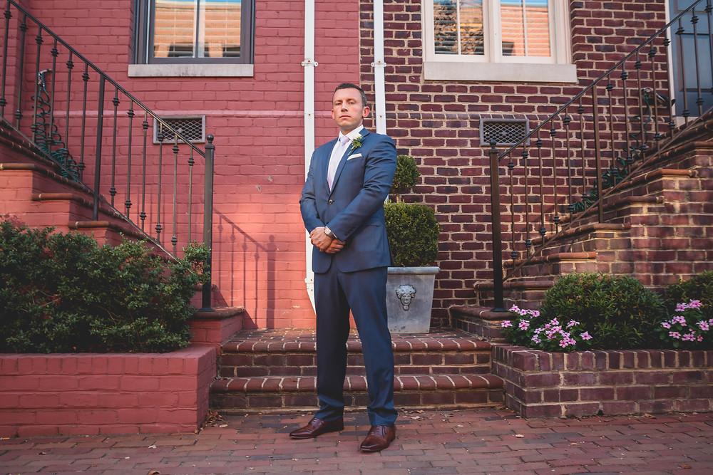 Old Town Alexandria Virginia Wedding