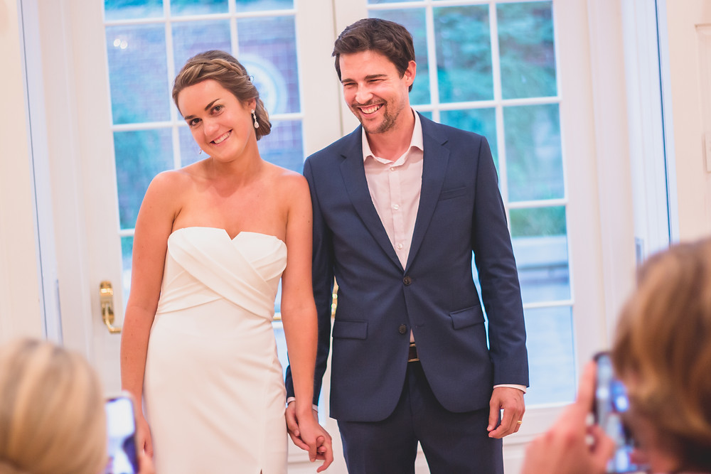 Dumbarton House Wedding Washington DC Georgetown