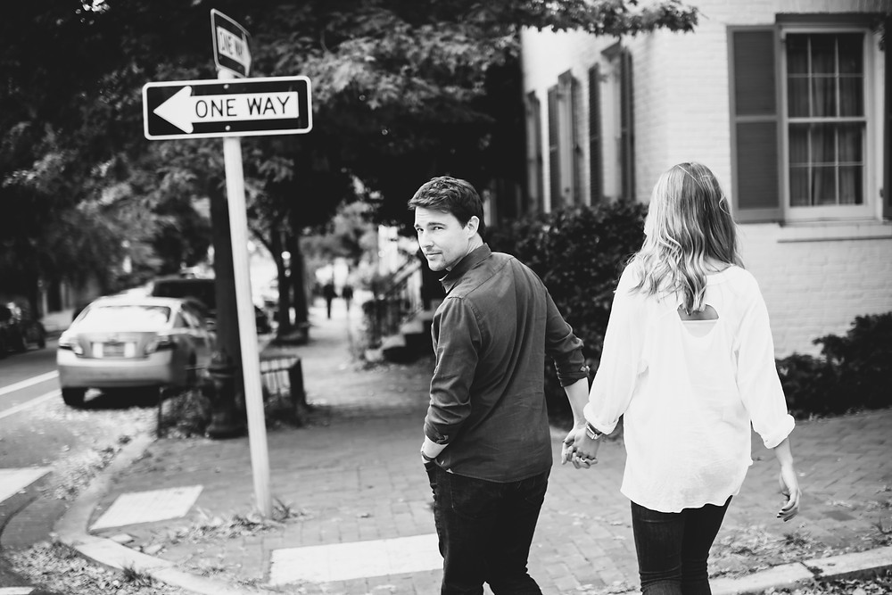 Washington DC Georgetown Engagement