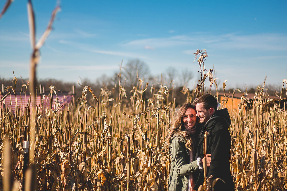 engagement at cox farms Virginia