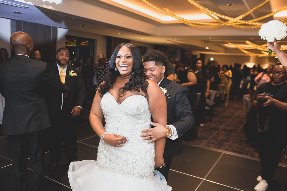 Aryka Moncrief and Brandon Maclin Wedding