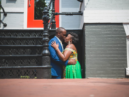 Arnold + Yeve | Washington DC | Citizen Heights Church Elopement