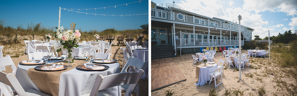 Childrens Beach House Wedding Lewes Delaware