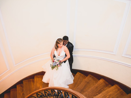 Amanda + Kendell | Oxon Hill MD | Oxon Hill Manor Wedding