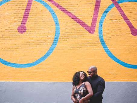 Ngozi + Michael | Washington DC | Georgetown Engagement Session