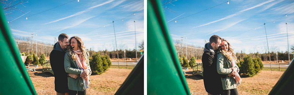 charliepwindsor engagement at cox farms Virginia